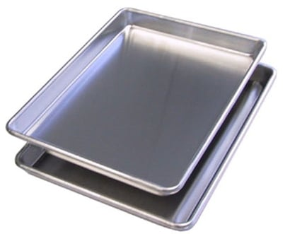BroilKing D5220 Set of 2 Commercial Quarter Size Sheet Pans
