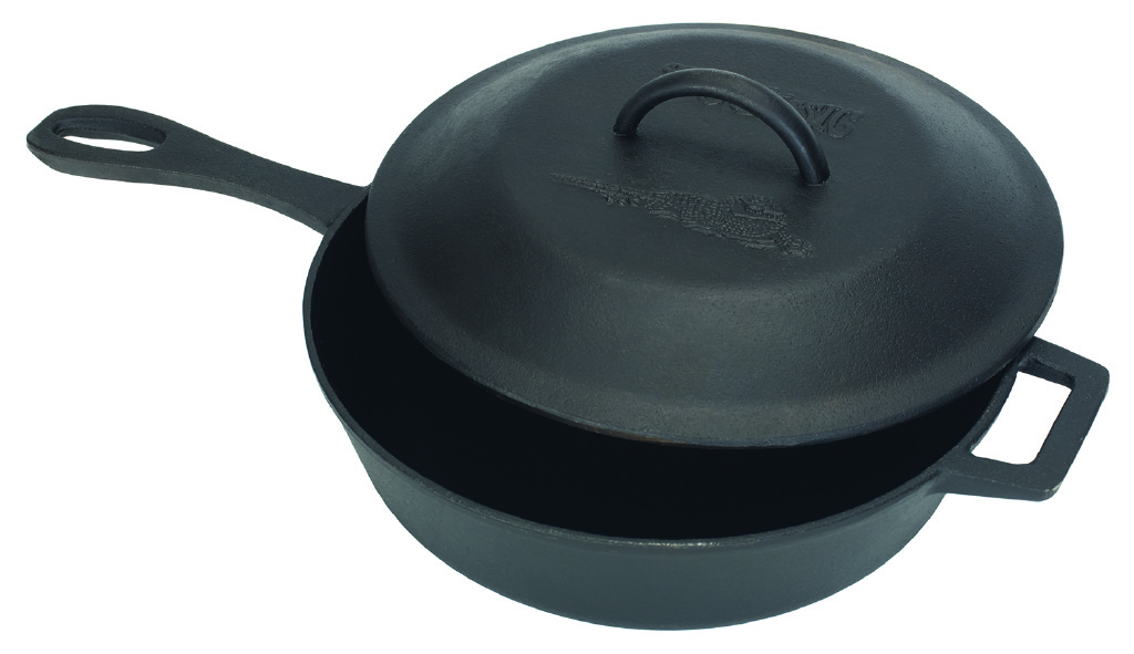 Bayou Classic 7440 3-Qt. Covered Skillet