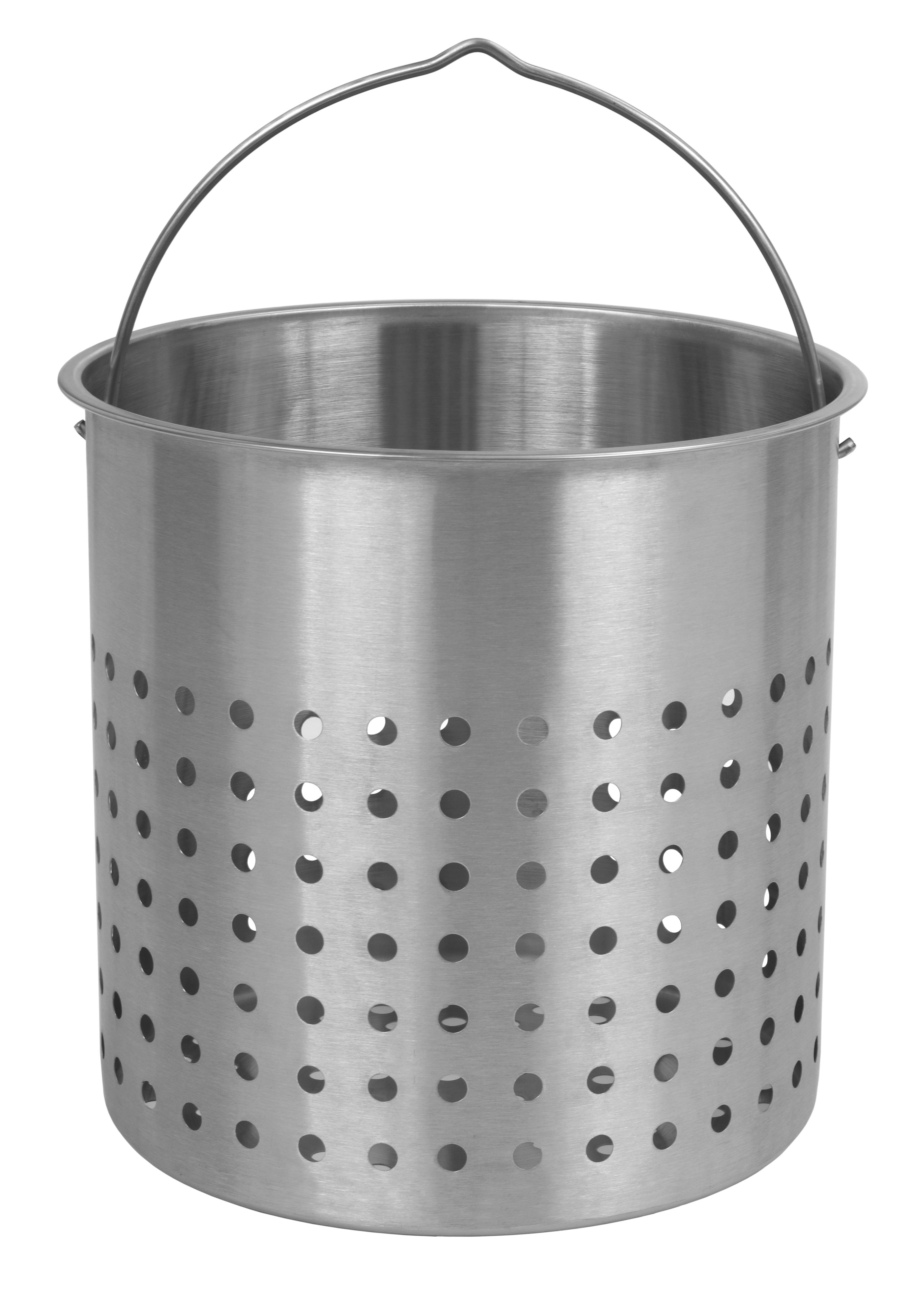 Bayou Classic B144 44-Qt. Perforated Basket