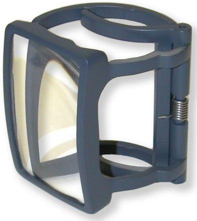 Carson RX-55 MagRX 2x Clip-on Medicine Bottle Magnifier