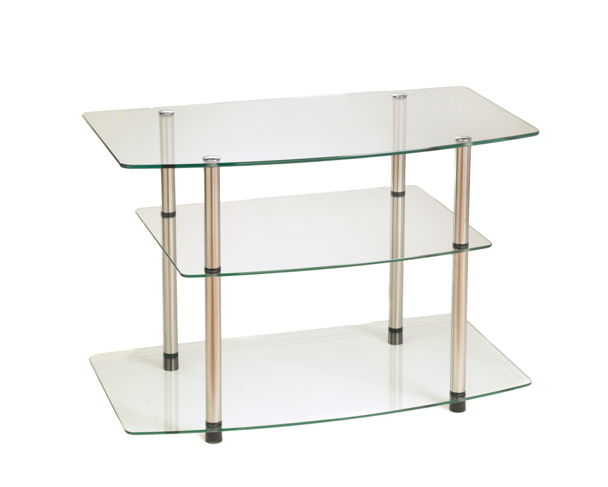 Convenience Concepts  Inc. 157004 Classic Glass TV Stand