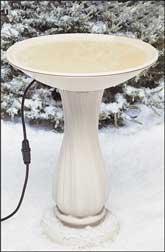 Allied Precision API600 Heated Plastic Bird Bath