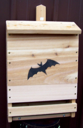 Stovall SP8H Wood Single Cell Bat House