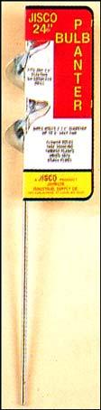 Jisco 2-3/4 Inch x24 Inch  Bulb Planter