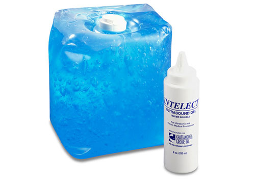 Chattanooga 4266 1.3 Gallon (5 Liter) Plastic Container Intelect Ultrasound Gel