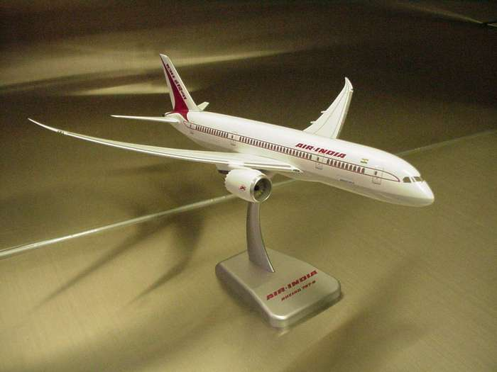 Daron Worldwide Trading  HG3626 Hogan Air India 787-8 1/200 No Gear