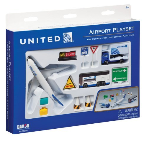 Daron Worldwide Trading RT6261 United 12 Piece Playset