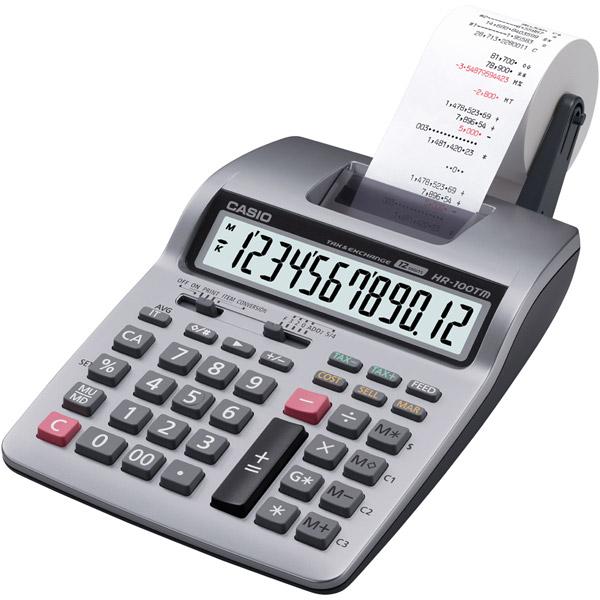 Casio HR-100TM Portable Printing Calculator