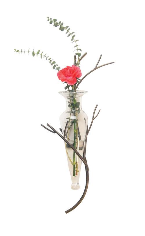 Danya B MC790-C Amphora Vase on Twig Sconce H:22 Inch