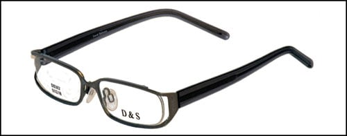 David Samuels Optical ds302-2-Transparent Black-Optical Frames