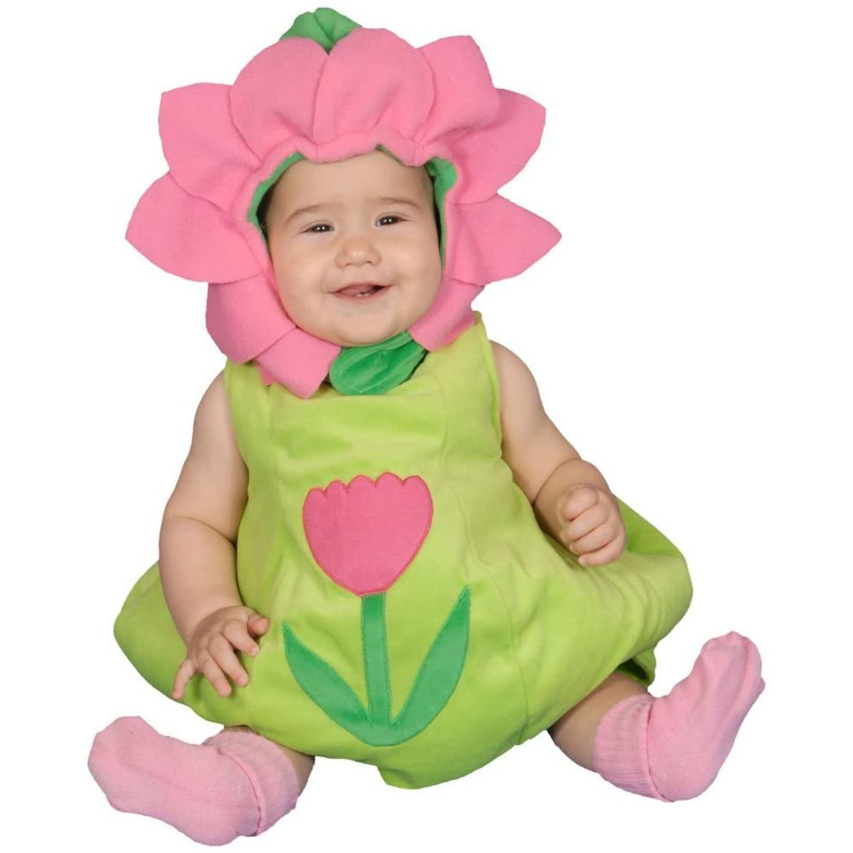 Dress Up America Dazzling Baby Flower Costume Set 12-24 mo. 278-24M