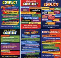 Didax Dd-2168 Conflict Resolution Posters