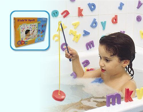 EduShape 915019 Fish N' Bath Toy Spell - Box
