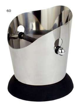 European Gift 60-Stainless Steel  Knock Box