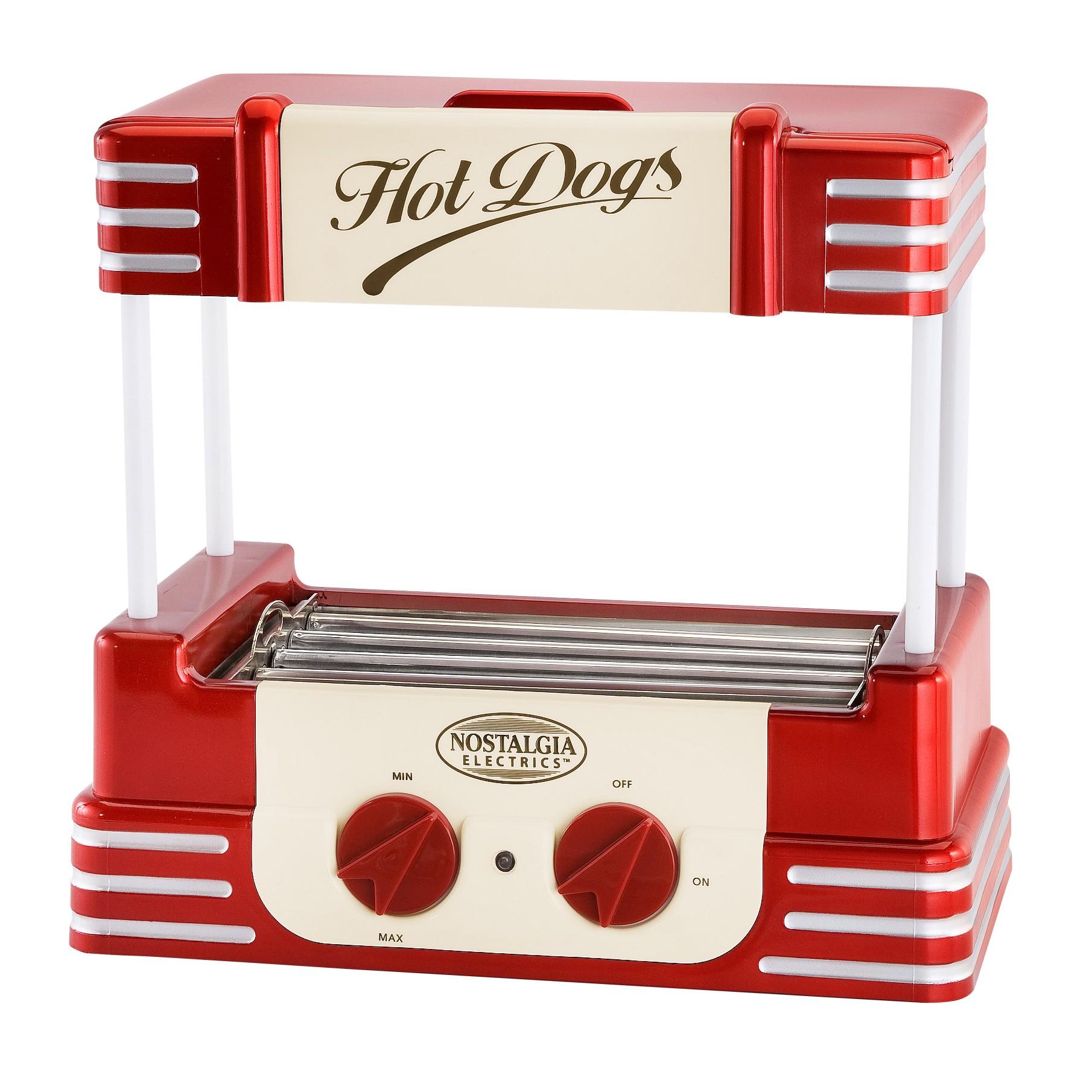 Nostalgia Electrics RHD-800 Retro Hot Dog Roller EMG742