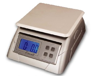 Escali  136DK  Alimento Stainless Steel Top Scale  13 Lb / 6 Kg