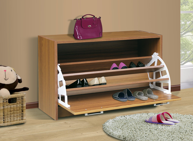 4D Concepts 76157 Deluxe Single Shoe Cabinet - Oak