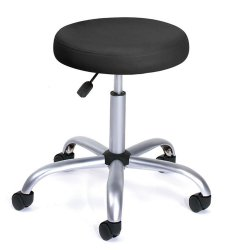 Boss B240-BK Doctor's Stool - Black