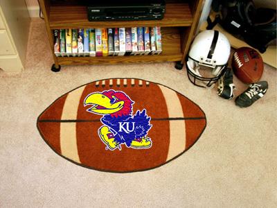 FanMats University of Kansas Football Mat F0003601