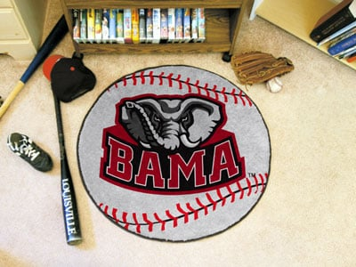 FanMats University of Alabama Baseball Mat F0003756
