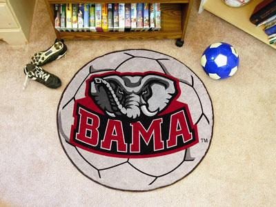 FanMats University of Alabama Soccer Ball Mat F0003757
