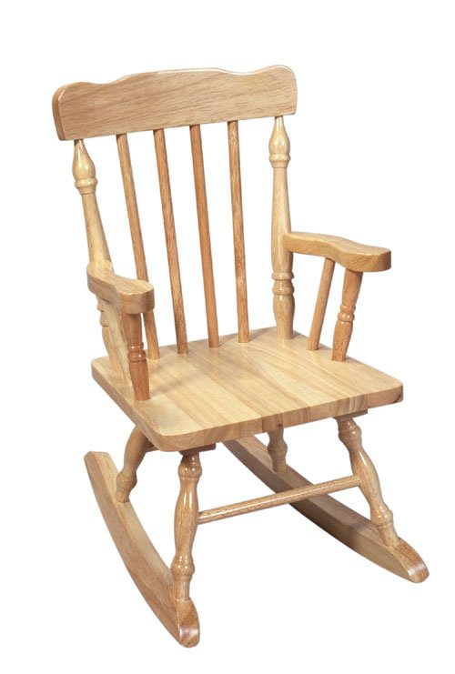 Giftmark 3100N Child s Colonial Rocking Chair Natural