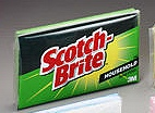 3-M COMPANY Scotch-Brite Large Heavy Duty Scrub Sponge 455 Case of 12