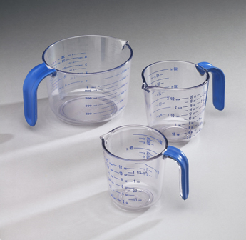 Arrow Plastic 032 Cool Grip 4.5 Cup Measuring Cup -