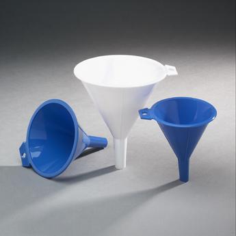 Arrow Plastic 123 AST 16 oz Funnel -
