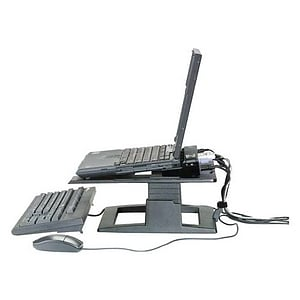 3M LX500 Adjustable Notebook Stand - Black