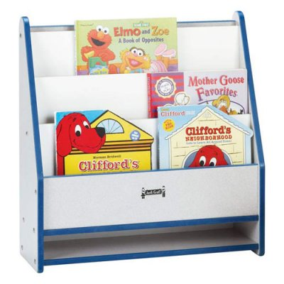 Jonti-Craft 0071JCWW112 Toddler Pick-A-Book Stand - 1 Sided - Navy