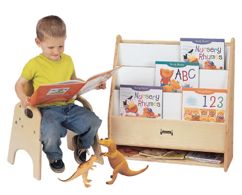 Jonti-Craft 0071JC TODDLER PICK-a-BOOK STAND - 1 SIDED