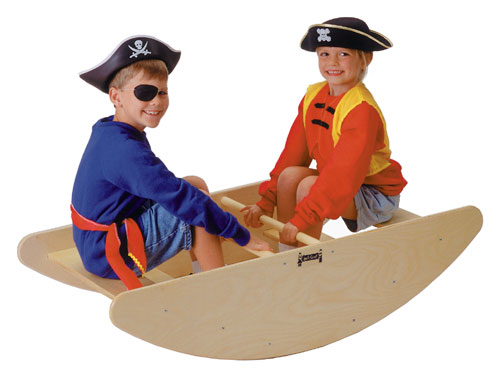 Jonti-Craft 0250JC STEP ROCKING BOAT