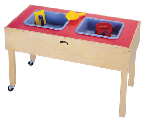 Jonti-Craft 0485JC 2 TUB SENSORY TABLE