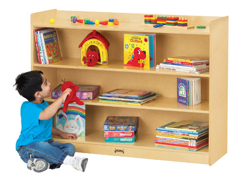 Jonti-Craft 0782JC MOBILE BOOKCASE WITH LIP