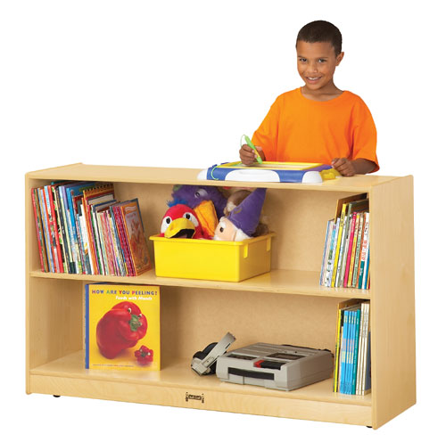 Jonti-Craft 0792JC LOW ADJUSTABLE BOOKCASE