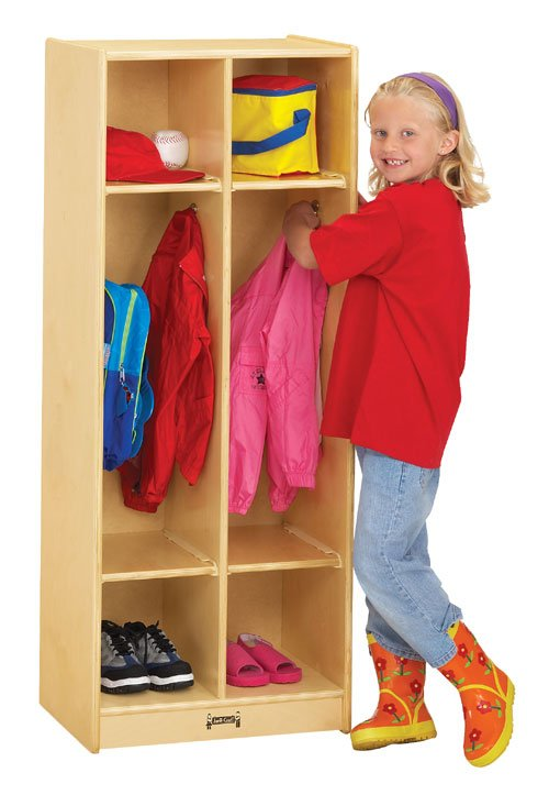 Jonti-Craft 2682JC DOUBLE LOCKER - 2 SECTIONS