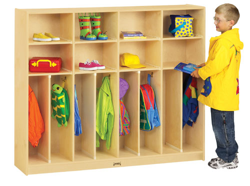 Jonti-Craft 2685JC NEAT-n-TRIM LOCKERS - 60 INCH - 8 SECTIONS