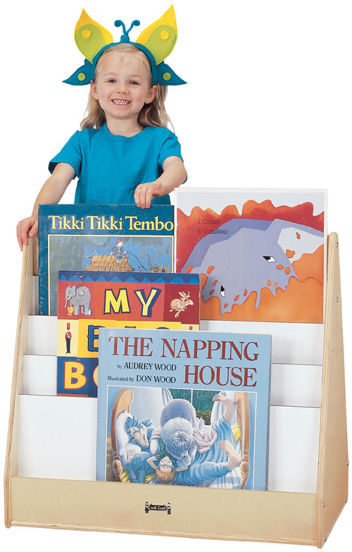 Jonti-Craft 3503JC BIG BOOK MOBILE PICK-a-BOOK STAND - 1 SIDED