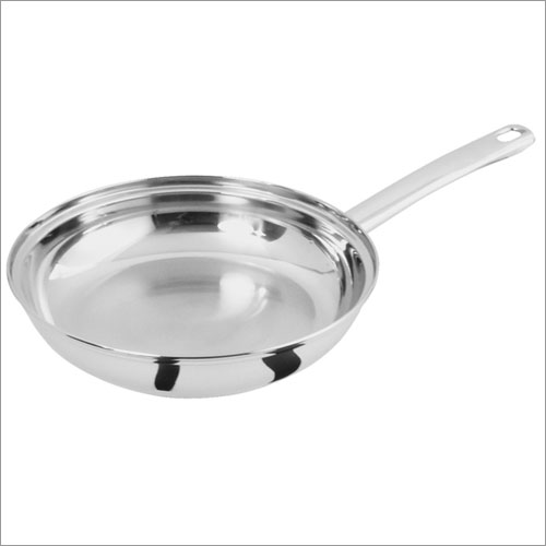 Classicor 29110 10 Inch Open Stainless Steel Frypan - plain box