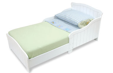 Kid Kraft Nantucket White Toddler Bed 86621