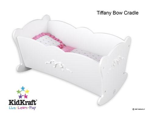 KidKraft 60111 Tiffany Bow Doll Cradle