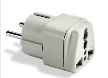 Franzus NWG1C Grounded Adapter Plug