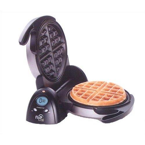 Presto 03510 1350 W FlipSide Belgian Waffle Maker