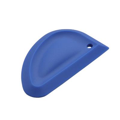 MIU France 99003 Silicone Blue Bowl Scraper