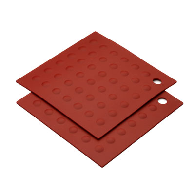 MIU France 99094 Silicone Red Pot Holder