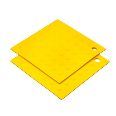 MIU France 99095 Silicone Yellow Pot Holder