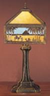 Meyda Tiffany 26839 19.5 Inch H Camel Mission Accent Lamp