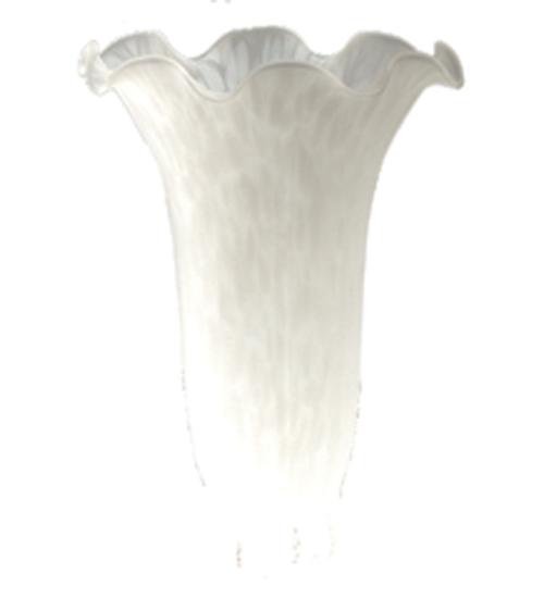 Meyda Tiffany 10199 3.5 Inch W X 5 Inch H White Lily Shade