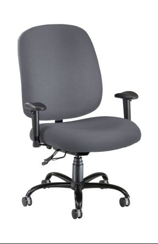 OFM 700-AA6-239 Big & Tall Chair with Arms - Gray